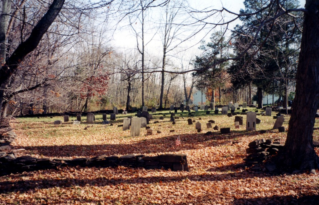 The Baptist Cemetery at Locktown