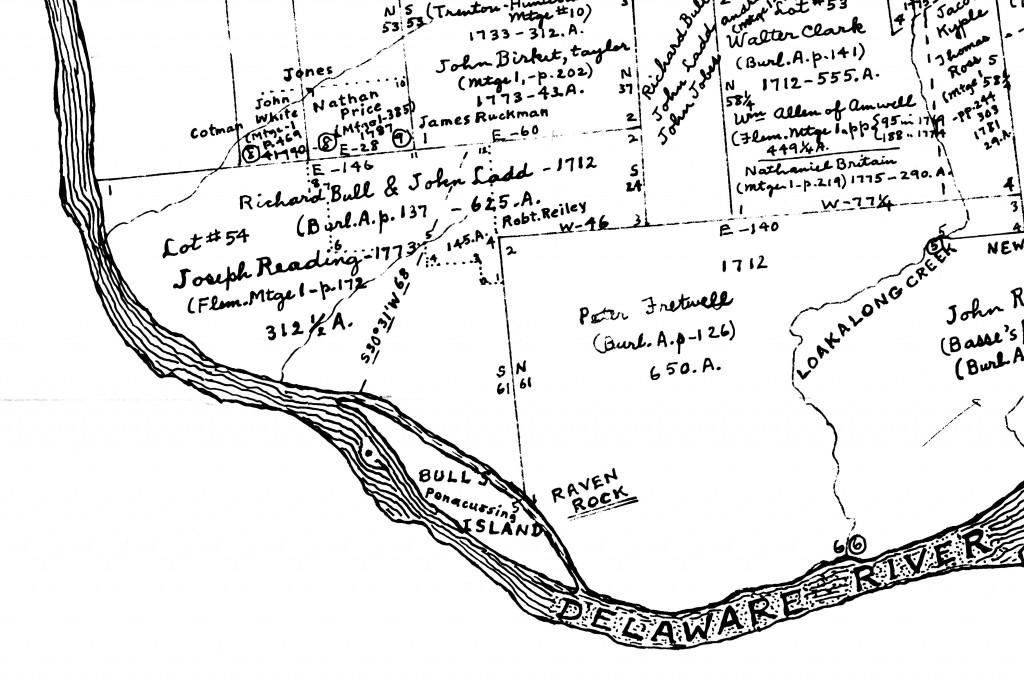Bull-Ladd Tract at Bull's Island, Hammond Map F