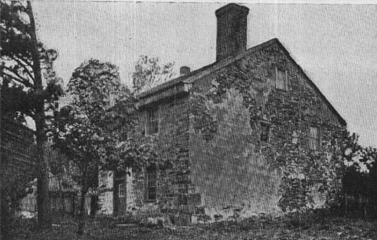 The 1723 house of Daniel Robins