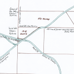 The 60.5 acres in two lots, sold to Daniel Robins by Samuel & Mary Kitchen on July 1, 1760, from Ms. Deed Collection 18, No. 15 in oversize deeds, Hunterdon Co. Historical Society