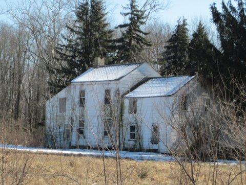 View of the Higgins-Horner-Hawk House, Block 5 lot 5