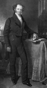 Martin Van Buren, from the National Portrait Gallery