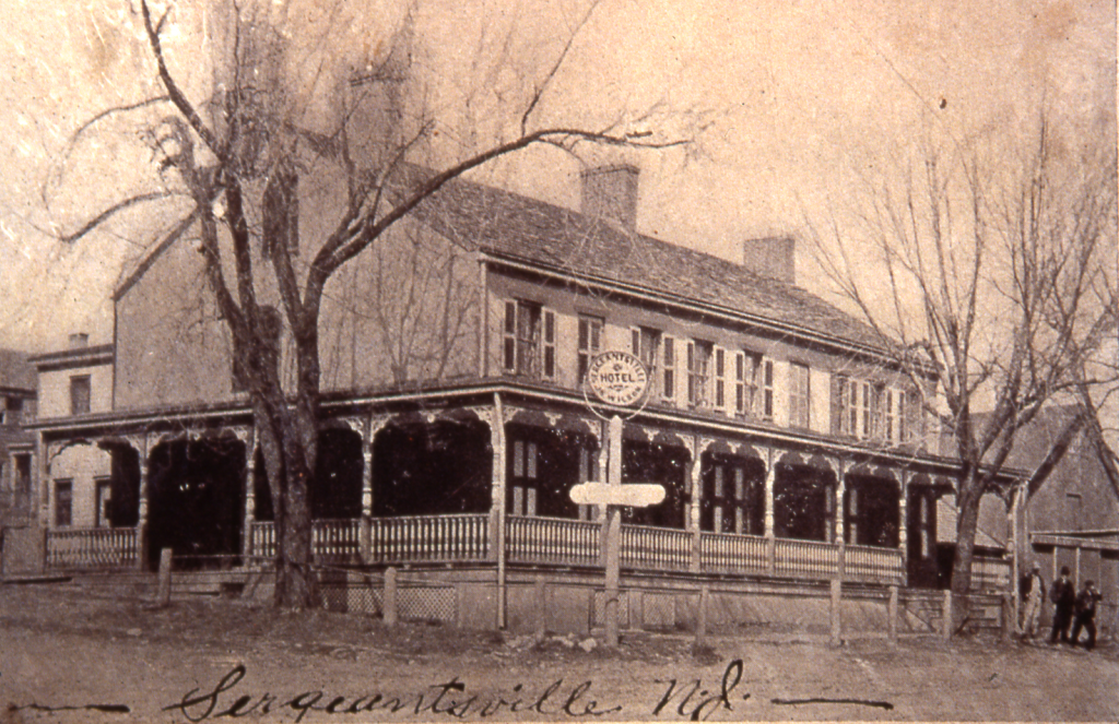 The Sergeantsville Hotel, late 19th or early 20th century