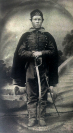 Courtland Morris of Raven Rock, copy of photograph from the Kuhl Collection