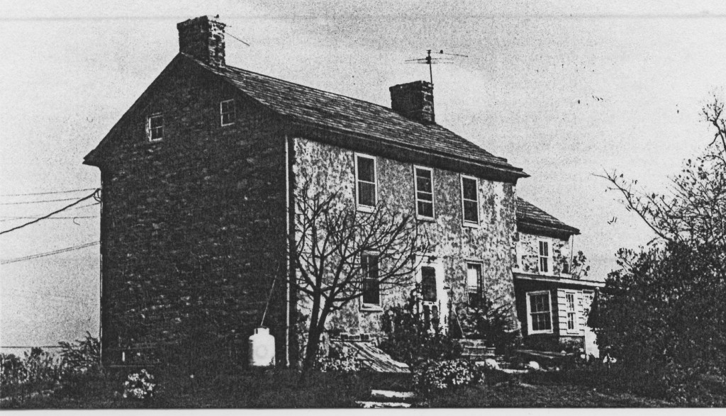 The Pauch Farmhouse, in 1983