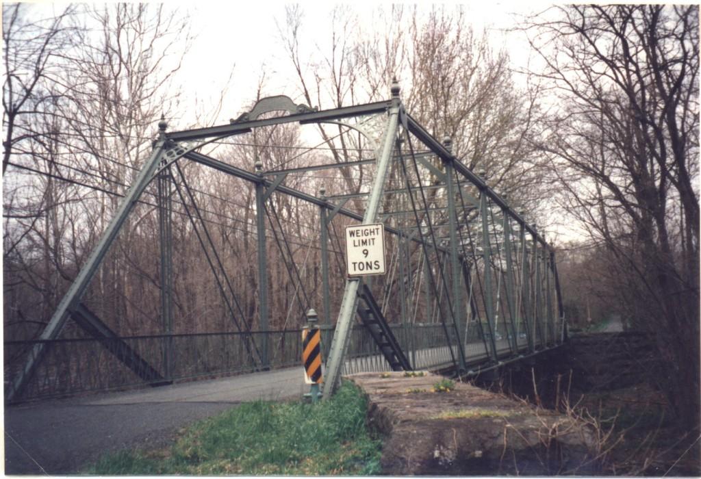 The Raven Rock Bridge over Lockatong Creek, in 2013