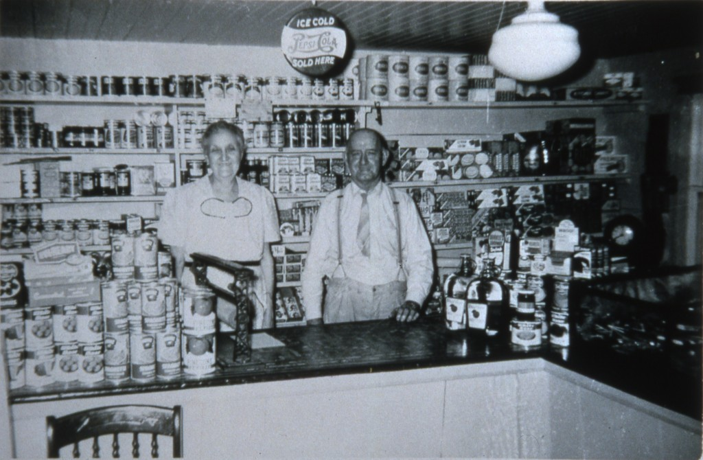 Bert and Jennie German at their Headquarters store
