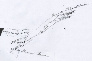 Map of road from file #19-4-41, Hunterdon County