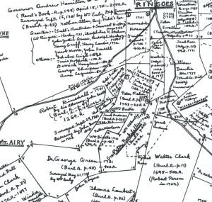 Detail of Hammond Map G