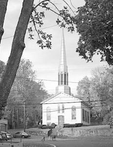 The Stockton Baptist Church, photographed by Frank Greenagle