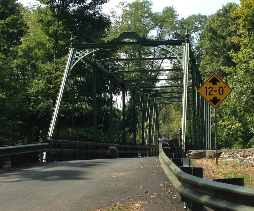 The Locktatong Bridge on Raven Rock Road, after restoration