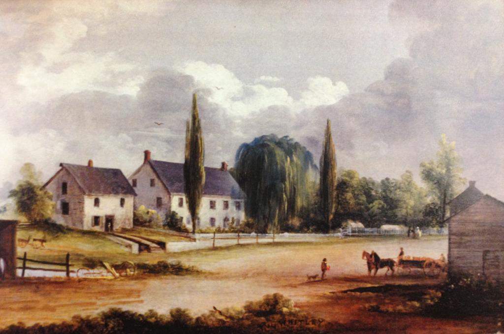 View of the John Prall, Jr. house by Thomas Whitley