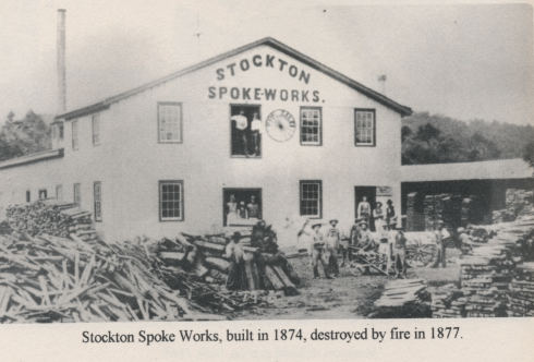 The photograph above is shown in the Naylor history of Stockton; and was provided by the Hunterdon County Democrat
