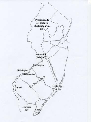 New Jersey as it was in 1694