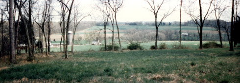 View from Fisher's Hill, near Pavlica Road