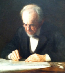 The Writing Master by Thomas Eakins, 1882