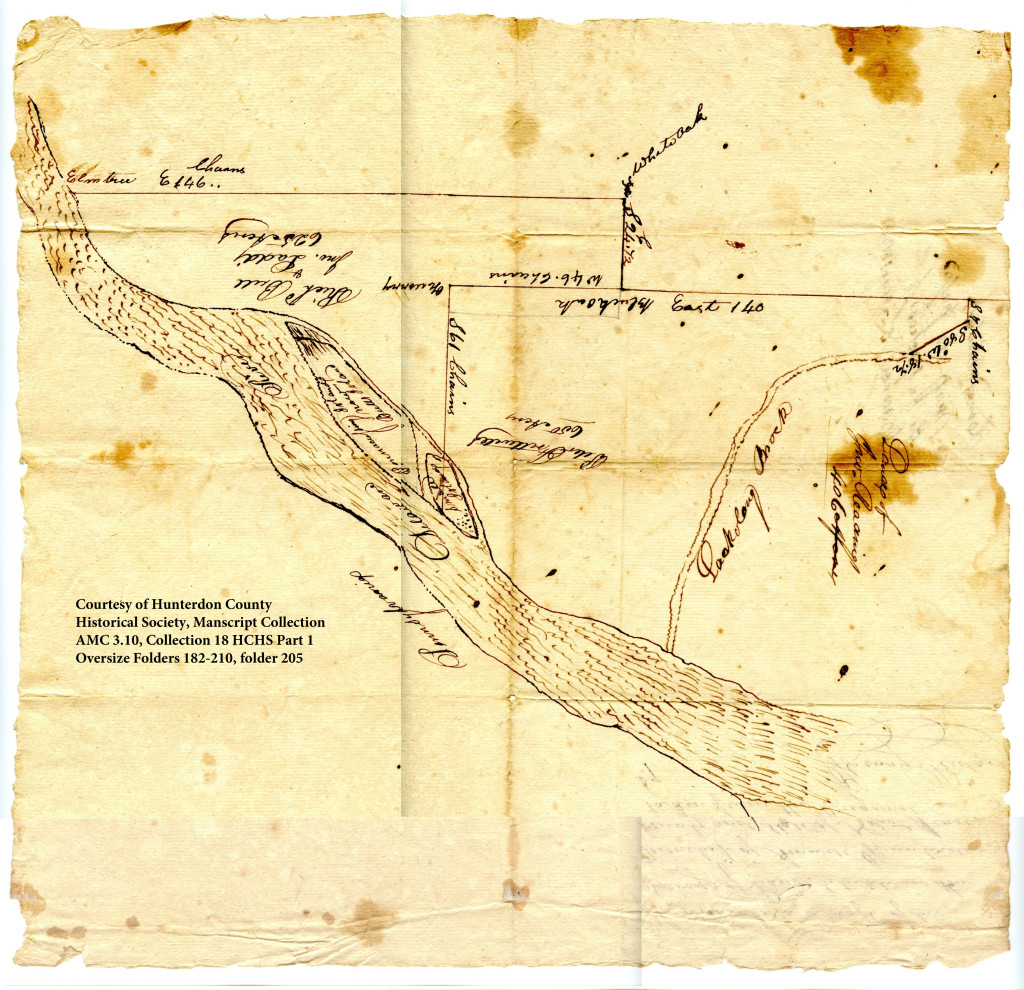 Survey map of Bull's Island and vicinity