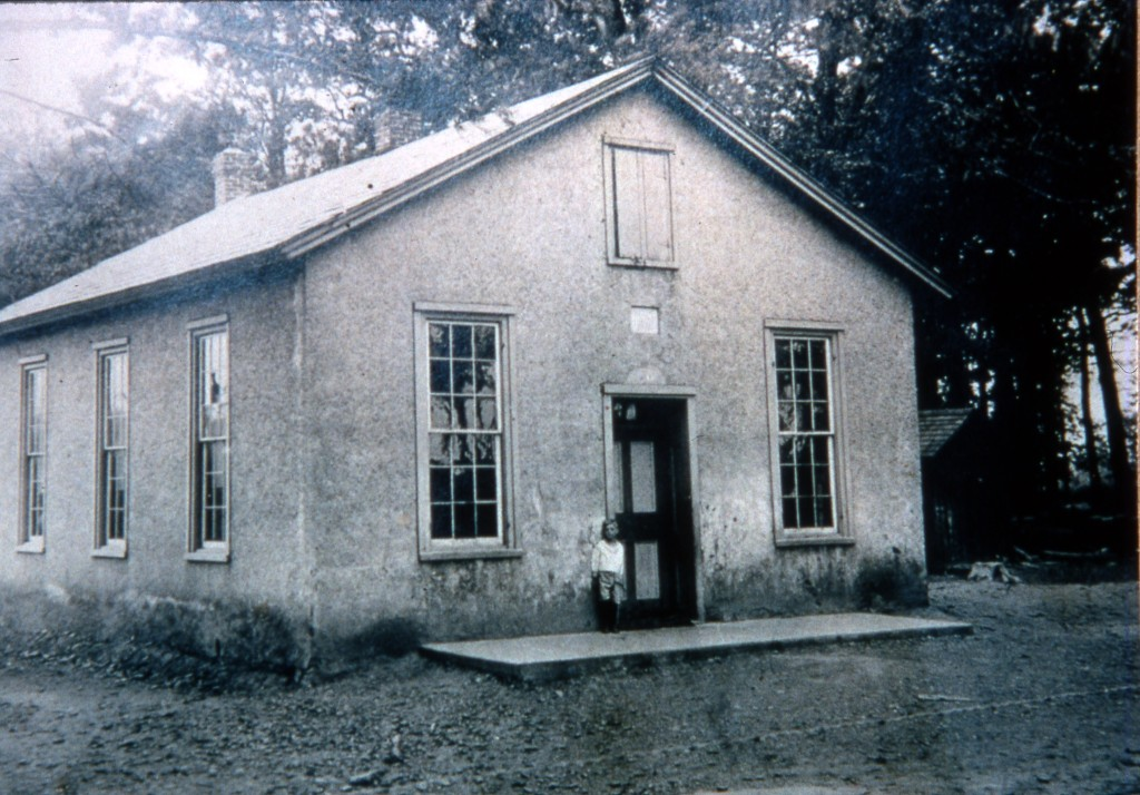 The Locktown School, built in 1868