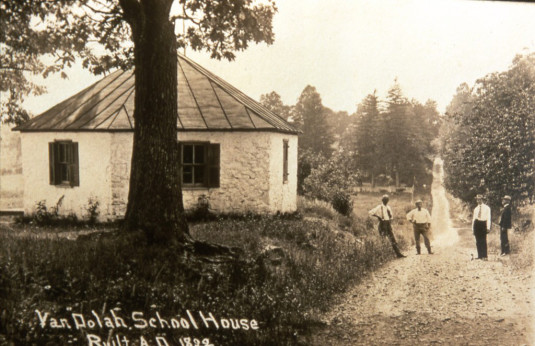 The Van Dolah School, c. 1900