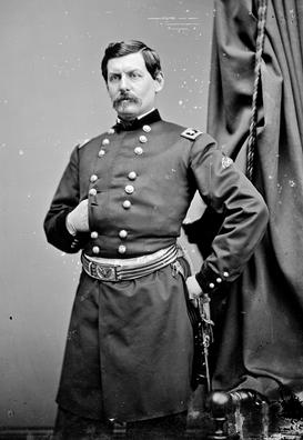 Gen. George B. McClellan, by Mathew Brady