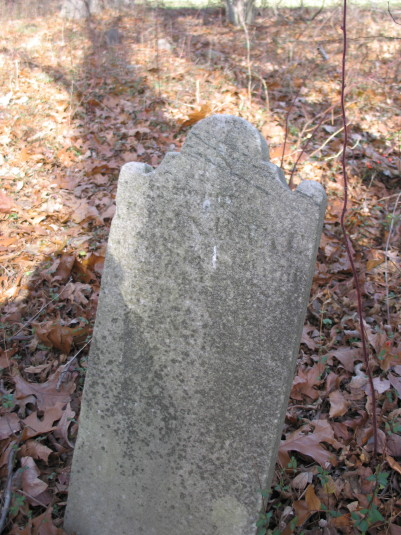 John Bake, Dec. 9, 1826, age 47 yrs 2 days
