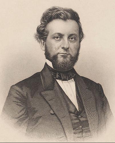 Gov. Joel Parker (1816-1888)