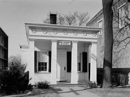 The Wurts Law Office, HABS NJ 722-1, c. 1936