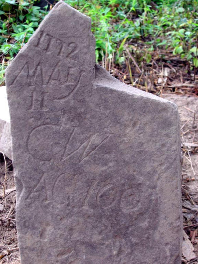 Gravestone of Cornelius Williamson, May 11, 1772