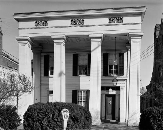 The Doric House, HABS NJ-769