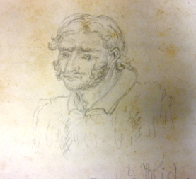 Sketch of Capt. Kidd from records of the West Jersey Proprietors