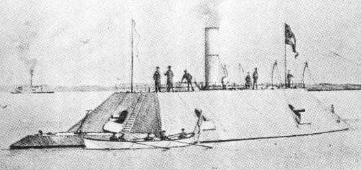 Confederate Ironclad Gunboat Chicora