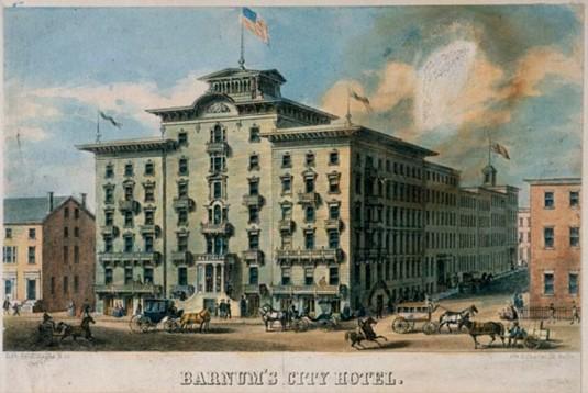 Barnum's Hotel in Baltimore