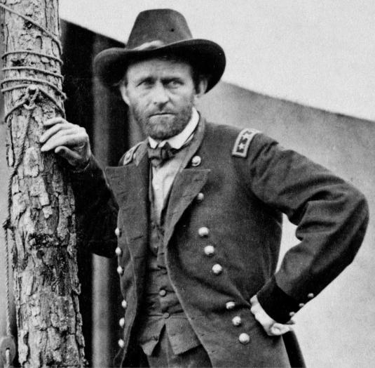 Ulysses S. Grant, 1864 by Mathew Brady