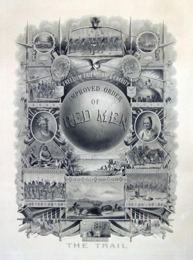 1888, Improved Order of Red Men broadside