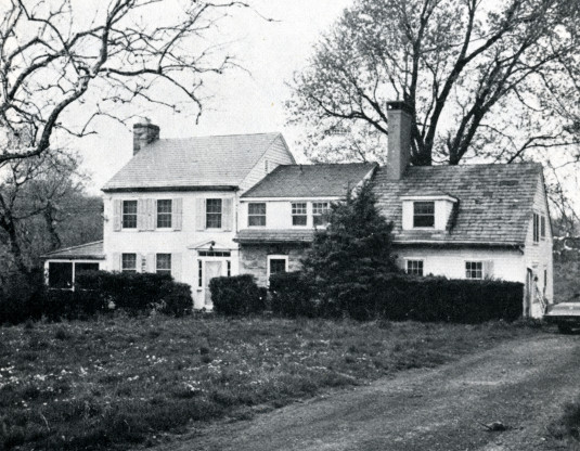 The home of Dr. John Bowne and family