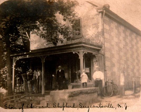 The Sergeantsville Inn, formerly Shepherd's Store, c. 1900