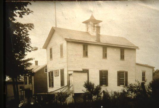 Military Hall, later Mechanics' Hall