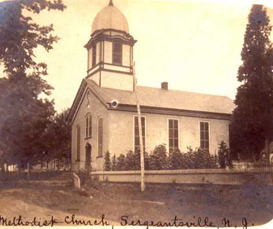 The Sergeantsville Methodist Episcopal Church
