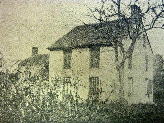 White Hall Tavern, Headquarters, NJ, from the Democrat-Advertiser, 1906