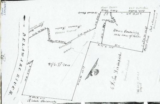 Survey of Lambert farm, Divisions Bk 1 p. 180