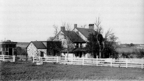 The Gershom Lambert farm on Lambertville-Headquarters Road