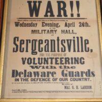 1861 War Poster
